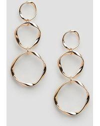 Ashiana - Triple Link Drop Earrings - Lyst