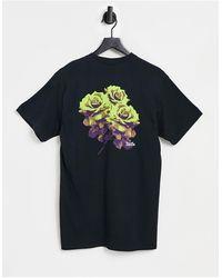 Huf Neu Rose - T-shirt - Noir