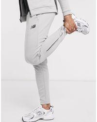 New Balance Running Tenacity Slim Fit sweatpants - Gray