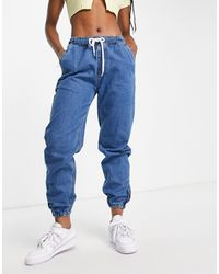 Naanaa Denim Slouchy Jeans - Blue