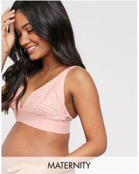 Tutti Rouge Maternity - Lola - Brassière per allattamento corallo - Rosa