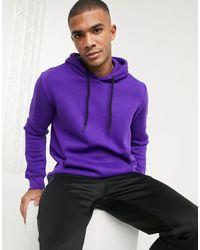 Bershka Худи Фиолетового Цвета -фиолетовый - Пурпурный
