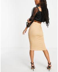 Flounce London Basic Midaxi Skirt - Multicolour