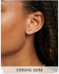 Kingsley Ryan Snake Stud Earrings - Metallic