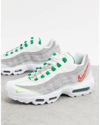 Nike Air Max - 95 Nrg - Sneakers Van Gerecyclede Jersey - Wit