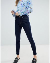 Oasis - High Rise Skinny Jeans - Lyst