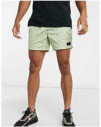 River Island Nylon Shorts - Green