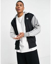 adidas Originals Черная Олимпийка В Стиле Колор Блок -черный Цвет