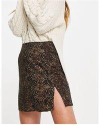 Motel - Mini A-line Skirt - Lyst