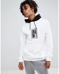 Volcom - Reload Hoodie With Print In White - Lyst