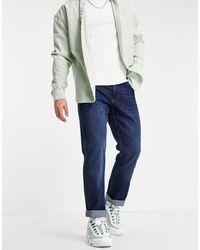 Wrangler Greensboro Straight Fit Jeans - Blue