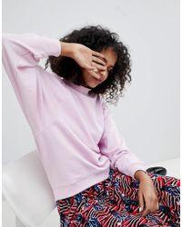 Monki | Oversized Sweatshirt | Lyst