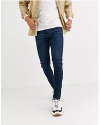 Criminal Damage Essential Skinny Jeans - Blue