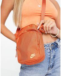Nike Оранжевая Сумка Для Полетов Через Плечо -оранжевый Цвет