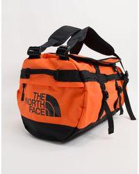 The North Face Base Camp Small Duffel Bag 50l - Orange