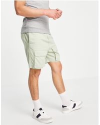 Native Youth Co-ord Shorts - Green