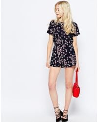 Sugarhill - Floral Shorts - Lyst