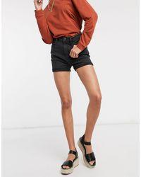 Pimkie Turnup Shorts - Black