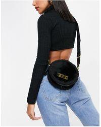 Versace Jeans Couture – Kleine Umhängetasche - Schwarz