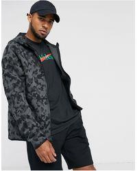 Nike Tech - Felpa con cappuccio e zip - Nero