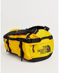 The North Face Желтая Сумка Дафл Base Camp-черный - Желтый