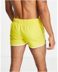 Jack & Jones Intelligence Swim Short - Yellow