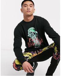 Blood Brother Ma-1 Sweatshirt - Black