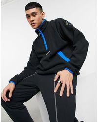 adidas Originals Adventure Half Zip Fleece - Black