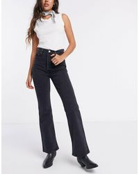 Levi's Ribcage Bootcut Jeans - Black