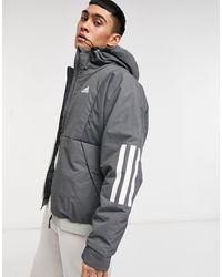 adidas Hooded Jacket - Grey
