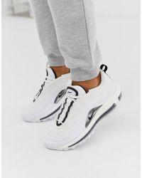 Nike White Air Max 97 Trainers