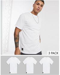 Native Youth Oversized 3 Pack T-shirt - White