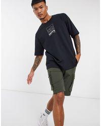adidas Originals Adiplore Oversized Premium Graphic T-shirt - Black