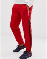 789bcf46992 Lacoste - Side Stripe jogging Bottoms - Lyst