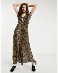 Oasis Midi Dress - Multicolor