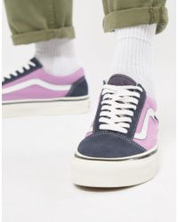 79c29d638881 Vans Era Heliotrope Purple Steel Grey in Purple for Men - Lyst