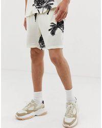 Mennace Co-ord Shorts - White