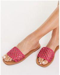 Miss Selfridge Ellie Sandals - Pink