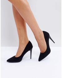 New Look High Pointed Court - Black