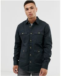 Only & Sons Twill Overshirt - Blue