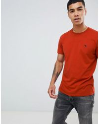 Abercrombie & Fitch - Pop Icon Logo T-shirt In Red - Lyst