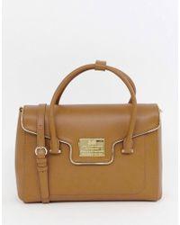 Love Moschino - Mini Handheld Tote Bag - Lyst