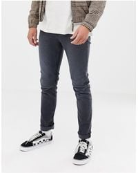 Cheap Monday Slim Tapered Jeans - Blue