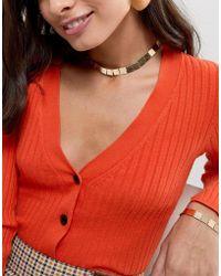 Nylon - Square Collar Necklace - Lyst