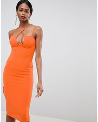 0c637c4cf9b American Apparel Bodycon Dress With Underwire Bustier Detail In ...
