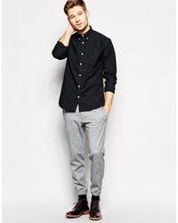 SELECTED - Оксфордская Рубашка -черный - Lyst