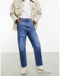ASOS - – Responsible Edit – Jeans mit hoher Taille - Lyst