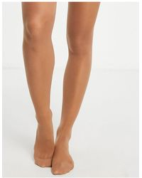 Lindex 40 Denier Firm Shaping Tights - Brown