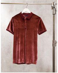 ASOS Polo Shirt - Red