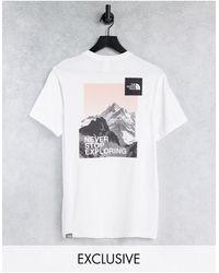 The North Face Logo Boyfriend T-shirt - White